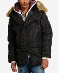Denim And Supply Ralph Lauren Men's Snorkel Jacket Black