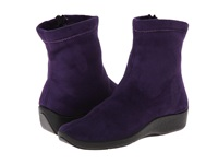 Arcopedico L8 Violet Suede Women's Zip Boots Purple