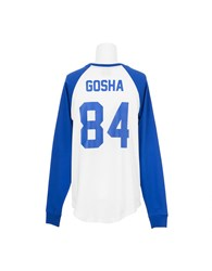Les Artists T Shirt Gosha 84 Football White Blue