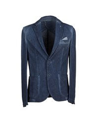 Liu Jo Jeans Suits And Jackets Blazers Men Slate Blue