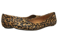 Dr. Scholl's Really Brown Black Leopard Women's Flat Shoes Animal Print