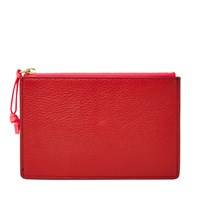 Fossil Sl7290933 Small Pouch Red