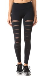 Solow Incise Leggings Black