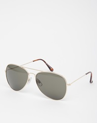 New Look Classic Aviator Gold