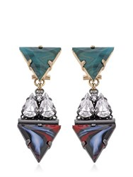 Anton Heunis Art Deco Expression Earrings