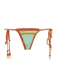 She Made Me Stevie Stripe Mini Tie Side Bikini Briefs