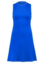 Evenandodd Jersey Dress Royal Blue