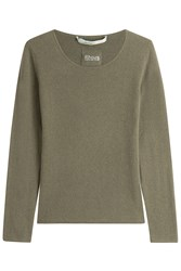 81 Hours By Dear Cashmere Carnabi Pullover Green