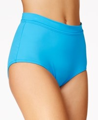 Coco Reef Power Pant Tummy Control Shaper Bikini Bottom Women's Swimsuit Sea Blue
