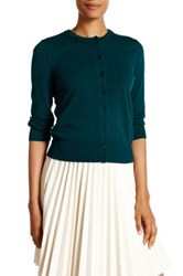 Cable And Gauge Jackie O Cardigan Green