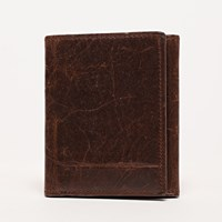 Moore And Giles Tri Fold Wallet Brompton Brown