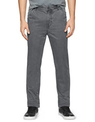 Calvin Klein Jeans Slim Straight Trouser Pants Grey