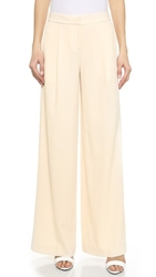 Dkny Wide Leg Trousers Muslin