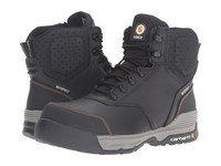 Carhartt 6 Waterproof Work Boot Black Leather Men's Work Boots