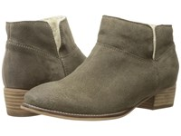 Seychelles Snare Cozy Taupe Suede Shearling Women's Pull On Boots