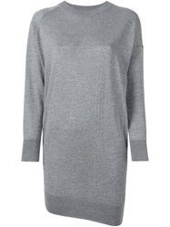 Laneus Knitted Dress Grey