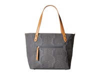 Petunia Pickle Bottom Embossed Downtown Tote Mini Champs Elysees Stop Tote Handbags Gray