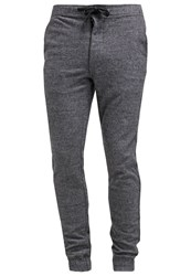 Minimum Lakeside Tracksuit Bottoms Grey Melange Mottled Grey