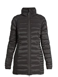 Canada Goose Brookvale Hooded Quilted Down Coat Black