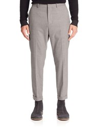 Vince Cropped Chino Pants Grey