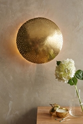 Perforated Inda Wall Sconce Anthropologie.Com
