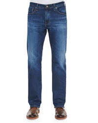 Ag Adriano Goldschmied Protege 6 Years Faded Denim Jeans Indigo