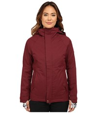 686 Authentic Smarty Catwalk Jacket Wine Pincord Women's Coat Red