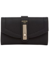 Guess Kingsley Slim Clutch Wallet Black
