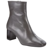 John Lewis Kin By Pernille Block Heeled Ankle Boots Grey