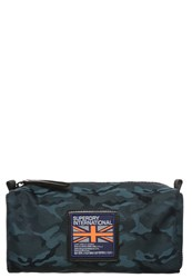 Superdry Wash Bag Teal Turquoise