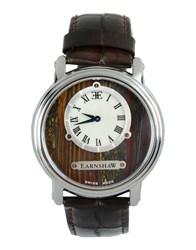 Earnshaw Timepieces Wrist Watches Men Dark Brown