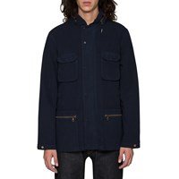 Folk Navy Field Jacket Blue