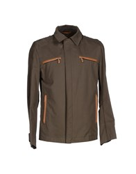 Husky Coats And Jackets Jackets Men Khaki