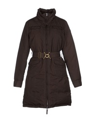 Timberland Down Jackets Dark Brown