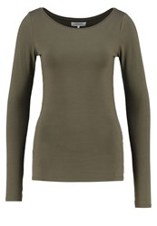 Zalando Essentials Long Sleeved Top Khaki