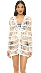 Solid And Striped The Poppy Eyelet Robe White