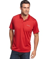 Columbia Utilizer Performance Polo Red