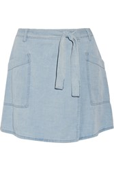 Maison Martin Margiela Denim Wrap Mini Skirt