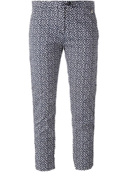 Woolrich Giraffe Print Cropped Trousers
