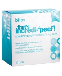 Bliss That's Incredi 'Peel' Resurfacing Pads