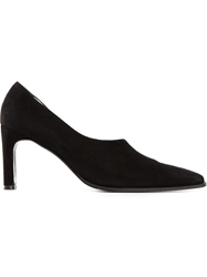 Casadei Vintage Cutout Pumps Black