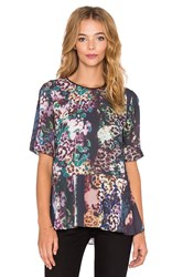 Clover Canyon Floral Filter Top Green