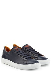 Ludwig Reiter Leather Sneakers Blue