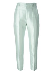 Haider Ackermann Fitted Trousers Green