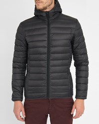 Schott Nyc Black Light Feather Down Jacket