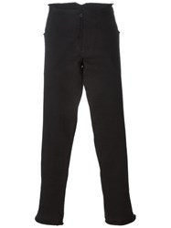 Ma Long Straight Leg Trousers Black