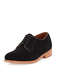 Gorilla Usa Suede Dress Oxford Black