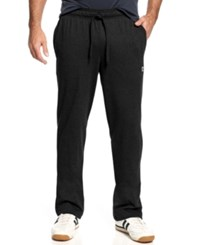 Champion Jersey Open Bottom Pants Black