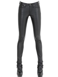 Saint Laurent Skinny Faux Leather Pants