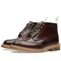 Trickers End. X Tricker's Jimmy Boot Mogano Brown Cordovan